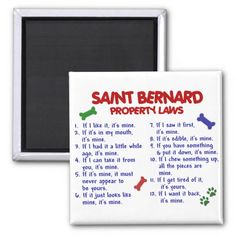 SAINT BERNARD Property Laws 2 Refrigerator Magnets lowest price for you. In addition you can compare price with another store and read helpful reviews. BuyShopping          SAINT BERNARD Property Laws 2 Refrigerator Magnets please follow the link to see fully reviews...