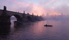 Karlův most s rybáři
