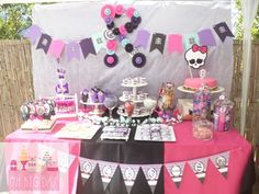 ♡ Candy Bar Monster High ♡