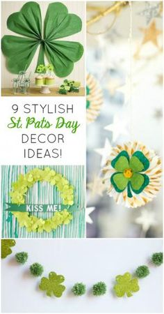 9 Awesome Ways to Decorate with Shamrocks this St. Patrick's Day!
