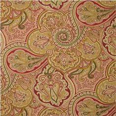 Waverly Fabric Paddock Shawl Antique - Artistic Family Room
