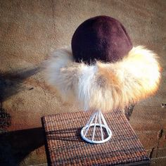 womens fur hat by modernmatters on Etsy