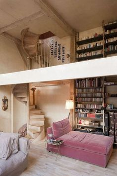 Interior Inspo: the pink sofa