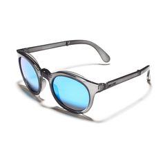 SUNPOCKET Gafas de Sol - Samoa Crystal Grey