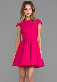 CAMEO x REVOLVE Mountain Dew Dress in Raspberry - Cameo