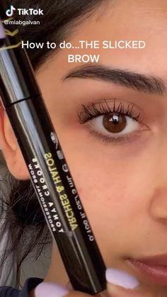 Eyebrow Makeup Tips, Makeup Eye Looks, Skin Makeup, Makeup Art, Asian Eye Makeup, Makeup Eyebrows, Makeup Hacks, Makeup Routine, Makeup Eyeshadow