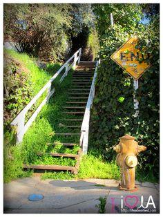 Echo Park, Los Angeles, Secret Stairs