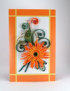 Birthday Card Beautiful Handmade Quilling Card For Girlfriend