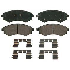 Disc Brake Pad Set-Service Grade Metallic Disc Brake Pad Front fits Kia Sportage