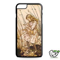Alice And Baby Pig iPhone 6 Plus Case | iPhone 6S Plus Case