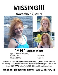 missing people | Missing People — Family Seeks Public's Help Finding 15-Year ...