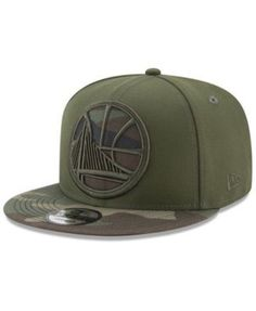 New Era Golden State Warriors Operation Camo Snapback Cap - Green Adjustable Camo Hats, Cowboy Hats, Nba Hats, Flat Bill Hats, Hip Hop Hat, New Era Hats, Snapback Cap, Golden State, Hats For Men