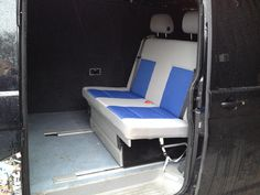 Rock and roll bed on rails - VW T4 Forum - VW T5 Forum