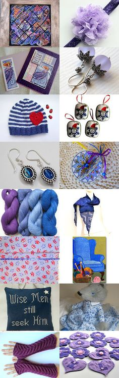 Purple Potpourri by Celebration Times Team  by Virginia Soskin on Etsy--Pinned with TreasuryPin.com