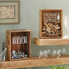 Provide your beer or wine enthusiast with the perfect showcase for their cap or cork collection.