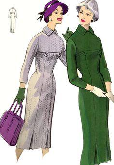 Burda - Modelli Autunno/ Inverno 1956/ 57 - burdafashion.com