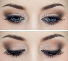 cool 50 Идей, как сделать макияж смоки айс для голубых глаз — Пошаговые фото Читай больше http://avrorra.com/makijazh-smoki-ajs-dlja-golubyh-glaz-foto-poshagovo/