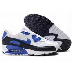 new concept a5559 d7f5d Find Mens Nike Black White Air Max 90 Deepblue online or in Curryshoes. Shop  Top Brands and the latest styles Mens Nike Black White Air Max 90 Deepblue  at ...