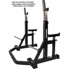 fitness Barbarian-Line Free Stands / Free Rack - certified according to EN 957 Dream Home Gym, At Home Gym, Gym Instruments, Gym Workouts, At Home Workouts, Squat Stands, Fitness Devices, Gym Machines, Gym Room