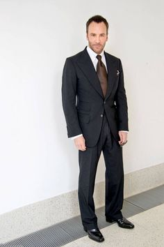 """""""Mr. Ford is a constant reminder of just how good a man can look in a well-cut suit."""""""