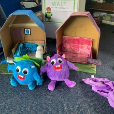 Some students made their Pet Creatures a house to live in - how thoughtful! Make sure to send us your pics to info@yourteacherspetcreature.com