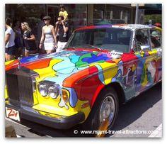 Coconut Grove Art Festival: Car Art