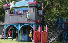 If You Build It, They Will Play: Fantasy Playhouses - ParentDish