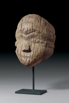 Africa | Pende people , DR of Congo | Mask | Wood | H 30 cm.