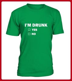 St Patrick Day Shirts Drunk Yes Or No - St patricks day shirts (*Partner-Link)