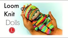 Rainbow Loom Baby Doll (small version) Loomigurumi - Hook Only Лумигуруми - YouTube