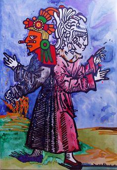 """""""Androgeno"""" de Andrea Valencia @ VirtualGallery.com"""