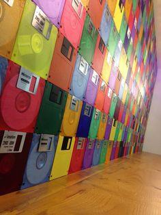 Cómo decorar utilizando diskettes | Blog de Habitissimo
