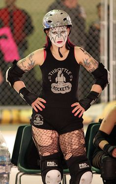Betty Ford Galaxy - one of the coolest looking rollergirls around.