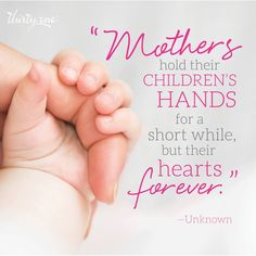 There is nothing like the bond between mother and child.