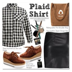"""Plaid Shirt"" by oshint ❤ liked on Polyvore featuring Gucci"