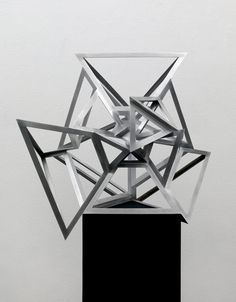 Conrad Shawcross | Perimeter Studies (Icosahedron) A Set 2, 2012