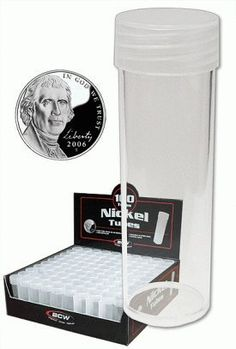 30 BCW COIN TUBES HALF DOLLAR