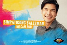 """Pinoy Big Brother All housemate - Chevin Cecilio """"Simpatikong Salesman"""" Pinoy, Brother, Entertaining, Big, Funny"""