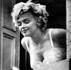 Marilyn Monroe on the set of The Seven Year Itch, 1954.