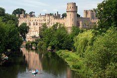 Castillo de Warwick (Inglaterra, Reino Unido)