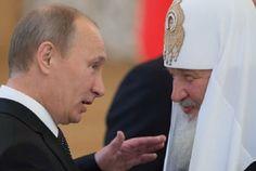 Путин дважды оттолкнул от себя патриарха Кирилла, который с первого раза не понял явный намек (ВИДЕО)