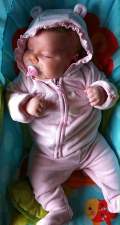 My soft pink inspiration-my daughter Isabella!