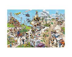 Puzzle Jumbo Tour de Francia de 1500 Piezas