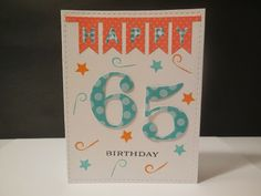 Lin's Craft Corner: Seize the Birthday - 1 And CASology #76 Party