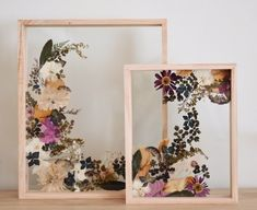 Pressed Flower Frame - Best Picture For diy projects For Your Taste You are looking for something, and it is going to te - Cheap Home Decor, Diy Home Decor, Room Decor, Marco Diy, Pressed Flower Art, Pressed Flowers Frame, Deco Nature, Drawing Wallpaper, Dried Flowers
