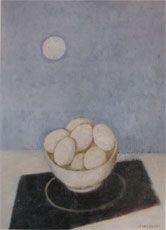 Felice Casorati, BOWL WITH EGGS