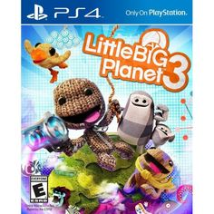 (*** http://BubbleCraze.org - Like Android/iPhone games? You'll LOVE Bubble Craze! ***)  Little Big Planet 3 [PlayStation 4]