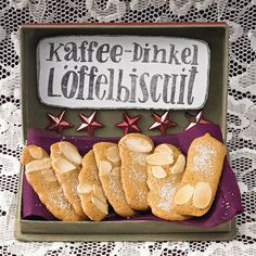 Kaffee-Dinkel-Löffelbiskuit http://www.moebel.de/magazin/x-mas-in-the-city
