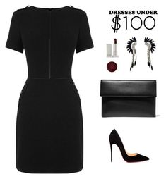 """""""#under100"""" by meli-g35 ❤ liked on Polyvore featuring Christian Louboutin, Elizabeth Cole, Marni, Lipstick Queen and under100"""