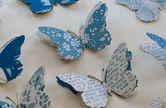 Dawn's butterflies are intricately detailed, featuring subtle differences in pattern and color.